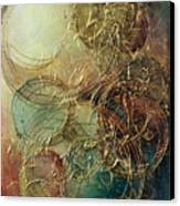 Moon Thread Canvas Print by Michael Lang