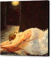Moonlight Ballet Canvas Print by Colleen Murphy