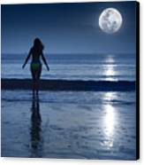 Moonlight Canvas Print by MotHaiBaPhoto Prints