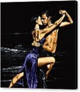 Moonlight Tango Canvas Print by Richard Young