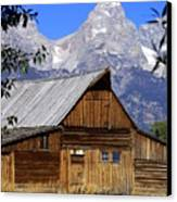 Mormon Row Barn  1 Canvas Print by Marty Koch