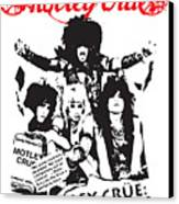 Motley Crue No.01 Canvas Print by Caio Caldas
