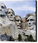 Mount Rushmore National Monument Canvas Print by Jon Berghoff