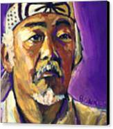 Mr Miyagi Canvas Print by Buffalo Bonker