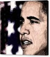 Mr. President Canvas Print by LeeAnn Alexander