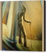 Mr Religion Grows Old Canvas Print by Joe Santana