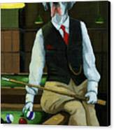 Mr. Thomas Tudor - Great Dane Portrait Canvas Print by Linda Apple