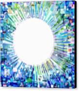 Multimedia Screen And Graphic Design Canvas Print by Setsiri Silapasuwanchai