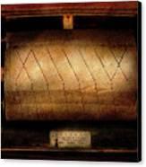Music - Piano - Binary Code  Canvas Print by Mike Savad