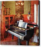 Music - Piano - It's A Long Long Way To Tipperary Canvas Print by Mike Savad