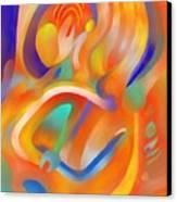 Musical Enjoyment Canvas Print by Peter Shor