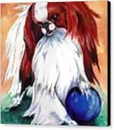 My Ball Canvas Print by Kathleen Sepulveda