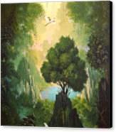 My Eden Canvas Print by Hans Doller