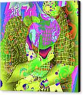 My Guitar Canvas Print by Ginette Callaway
