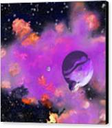 My Space Canvas Print by Methune Hively