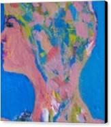 My Teacher--psychological Child Abuser Canvas Print by Judith Redman