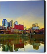 Nashville Tennessee Canvas Print by Steven  Michael
