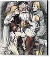 Nast: Christmas, 1879 Canvas Print by Granger