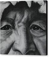 native Indian Canvas Print by Anastasis  Anastasi