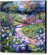 Nature's Garden Canvas Print by David Lloyd Glover
