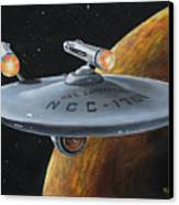 Ncc-1701 Canvas Print by Kim Lockman