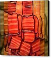 Ned Kelly Gang Art - Sunset Killers Canvas Print by Joan Kamaru
