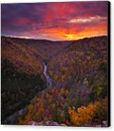Neverending Autumn Canvas Print by Joseph Rossbach