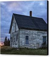 New Day Old House Canvas Print by John Greim