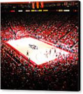 New Mexico Lobos University Arena Canvas Print by Replay Photos