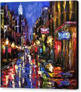 New Orleans Storm Canvas Print by Debra Hurd