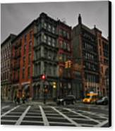 New York City - Soho 006 Canvas Print by Lance Vaughn