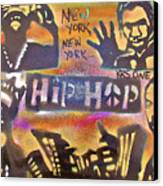 New York New York Canvas Print by Tony B Conscious
