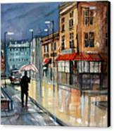 Night Lights Canvas Print by Ryan Radke