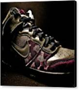 Nike Dunks Canvas Print by Allison Badely