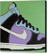 Nike Shoe Canvas Print by Grant  Swinney
