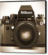 Nikon F3 Hp Canvas Print by Mike McGlothlen