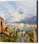 Noah's Ark Canvas Print by Cheryl Allen