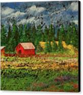 North Idaho Farm Canvas Print by David Patterson