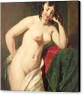 Nude Canvas Print by William Etty