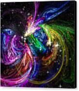 Nursery To The Stars Canvas Print by Karen Musick