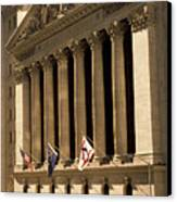 Ny Stock Exchange Canvas Print by Gerard Fritz