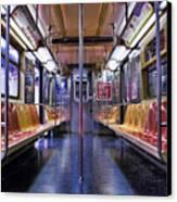 Nyc Subway Canvas Print by Kelley King