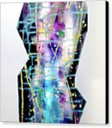 Nyx - Night Goddess Canvas Print by Mordecai Colodner