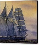 Ocean Dawn Canvas Print by James Williamson