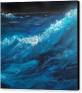 Ocean II Canvas Print by Patricia Motley