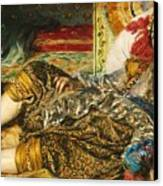 Odalisque Canvas Print by Pg Reproductions
