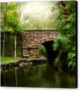 Old Country Bridge Canvas Print by Jessica Jenney