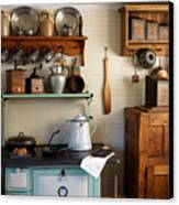 Old Country Kitchen Canvas Print by Carmen Del Valle