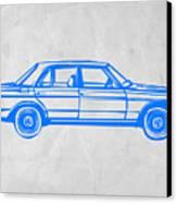 Old Mercedes Benz Canvas Print by Naxart Studio