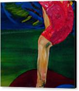 Olympic Gymnast Nastia Liukin  Canvas Print by Gregory Allen Page